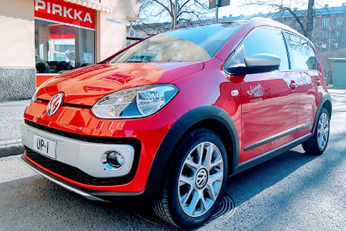 Autokoulu Tampere - Autokoulu Pirkka Volkswagen Cross Up!
